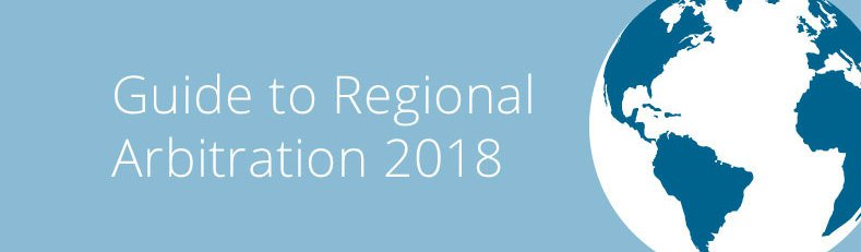 Guide to regional arbitration 2018 789x231