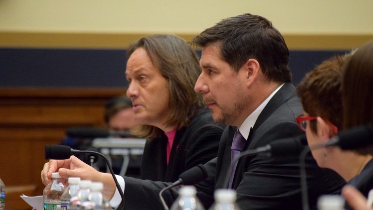 Legere says he made AT&T and Verizon compete