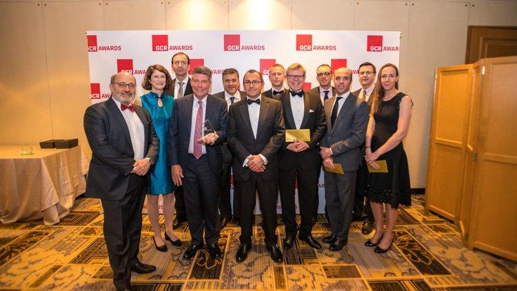 Bayer/Monsanto/BASF wins Matter of the Year at GCR Awards 2019