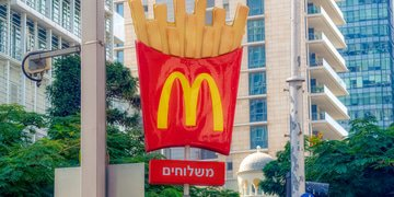 McDonald's ends exclusivity agreements in Israel
