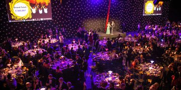 Goldfingered guests raise half a million at spy-themed ball