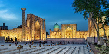 Funder seeks to enforce against Uzbekistan