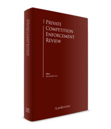 The private competition enforcement law review 220x256
