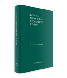The foreign investment regulation review 3d cover 220x256