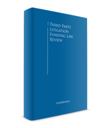 Third part litigation funding law review cover roi 1 220x256