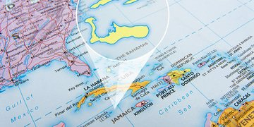 On the map: Cayman worked out