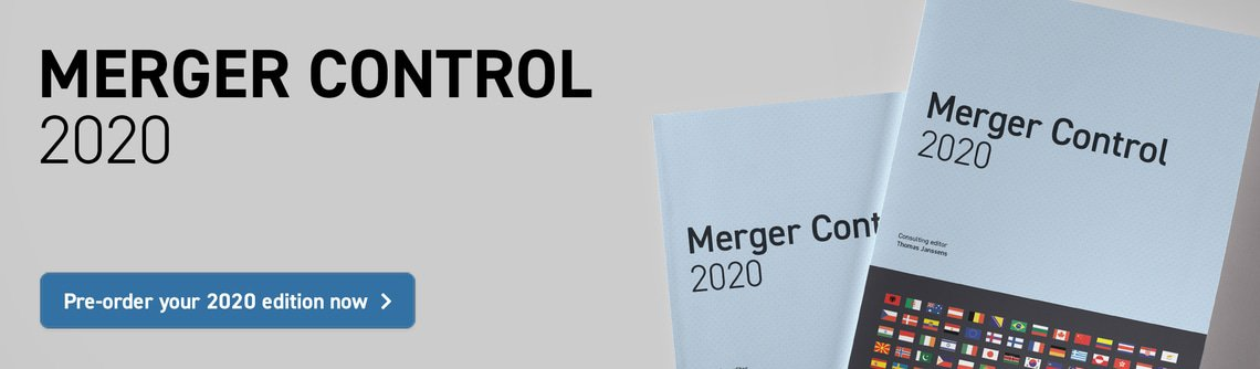 Merger Control 2020 – Pre-order your 2020 edition now