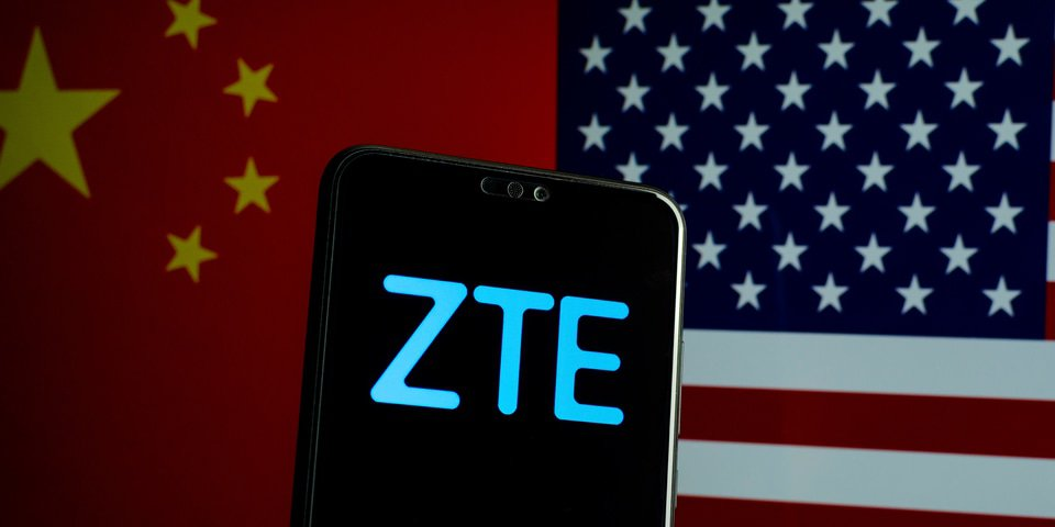 Akin Gump registers to lobby for ZTE