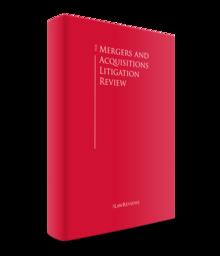 Mergers acquisitions litigation review 220x256