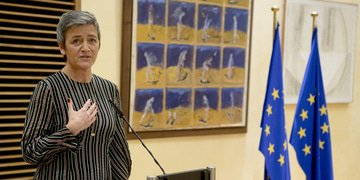 "Vestager reframes debate on ""true"" European champions"