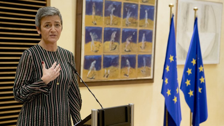 "Vestager reframes debate on ""true"" European champions"