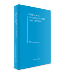 Media and entertainment law review 3d cover 220x256