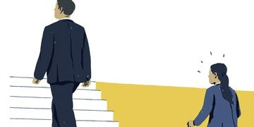Why fewer women than men become partners