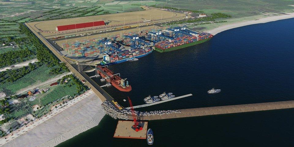 Georgia faces claim over deep-water port