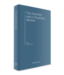 Tax disputes and litigation review 220x256