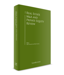 Real estate m a and private equity review 220x256