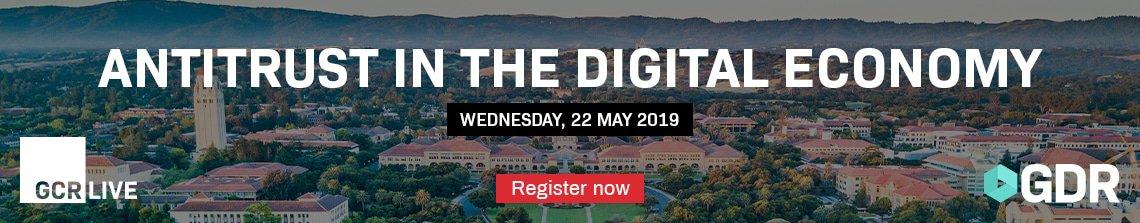 GCR Live: Antitrust in the Digital Economy