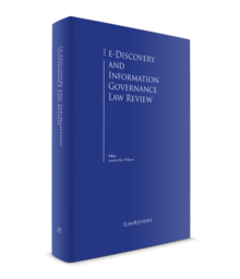 The e discovery and information governance law review roi 1 220x256