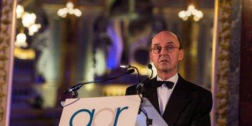 FILM: Van den Berg pays tribute to Böckstiegel at GAR Awards