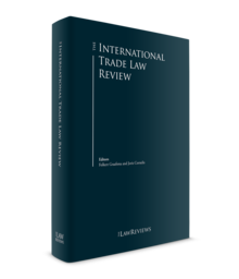 International trade law review 220x256