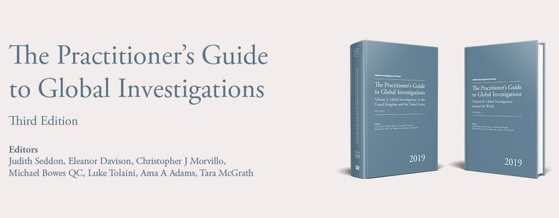 Global Investigations Review The Practitioner S Guide To Global