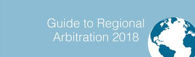 Guide to regional arbitration volume 6 2018 380x111