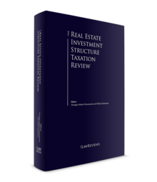 Real estate investment structure taxation 3d cover 220x256