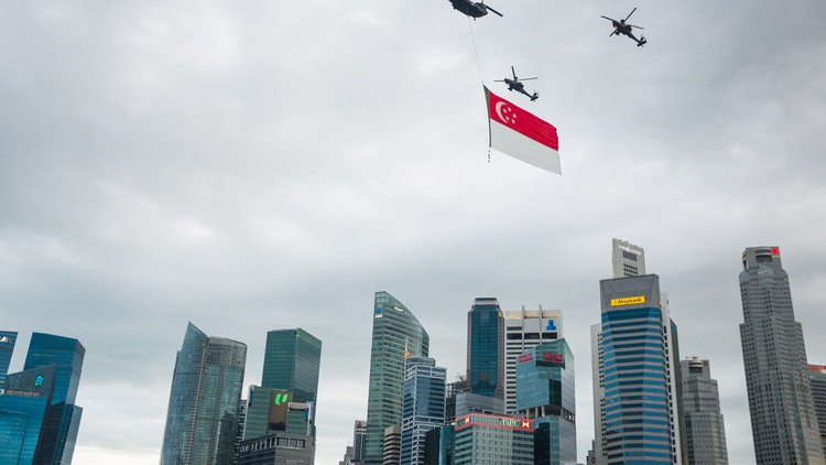 China and Hong Kong Worked Out: Singapore's challenge to Hong Kong