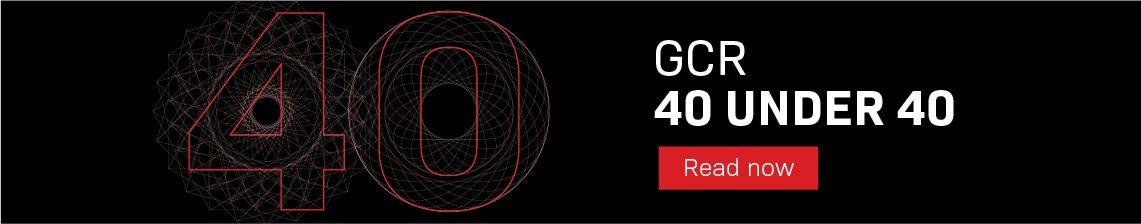 GCR 40 under 40 - read now