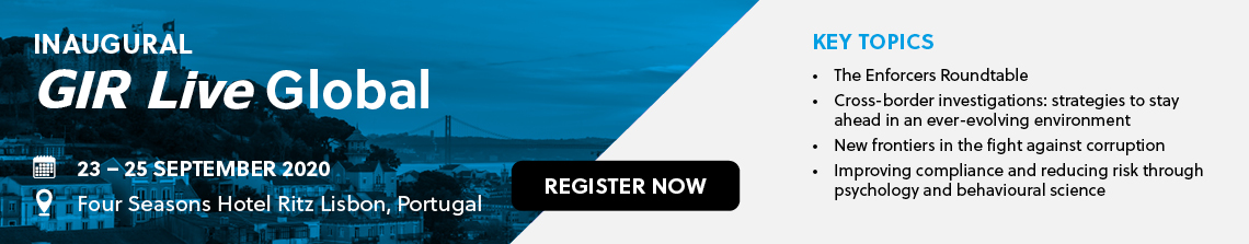 Inaugural GIR Live Global - 23-25 Sept 2020 - Register now