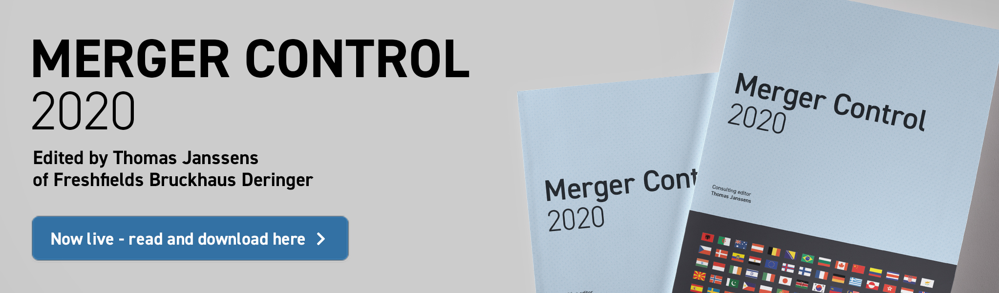 Merger Control 2020 - Now live - read and download here!