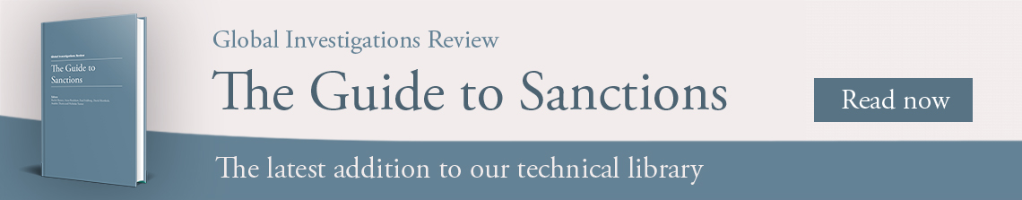 The Guide to Sanctions; The latest addition to our technical library. Read Now