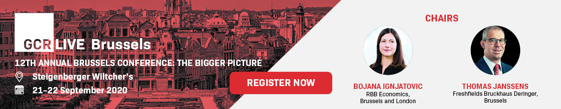 GCR Live Brussels- 21st to 22nd Sept 2020 - Register now